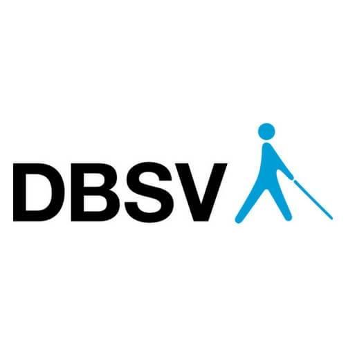 Logo des DBSV. Der Deutsche Blinden- und Sehbehindertenverband und seine Landesverbände sind wichtige Netzwerkpartner für die gemeinnützige HörMal Audiodeskription Unternehmergesellschaft. Bildrechte: Deutscher Sehbehinderten- und Blindenverband e. V.