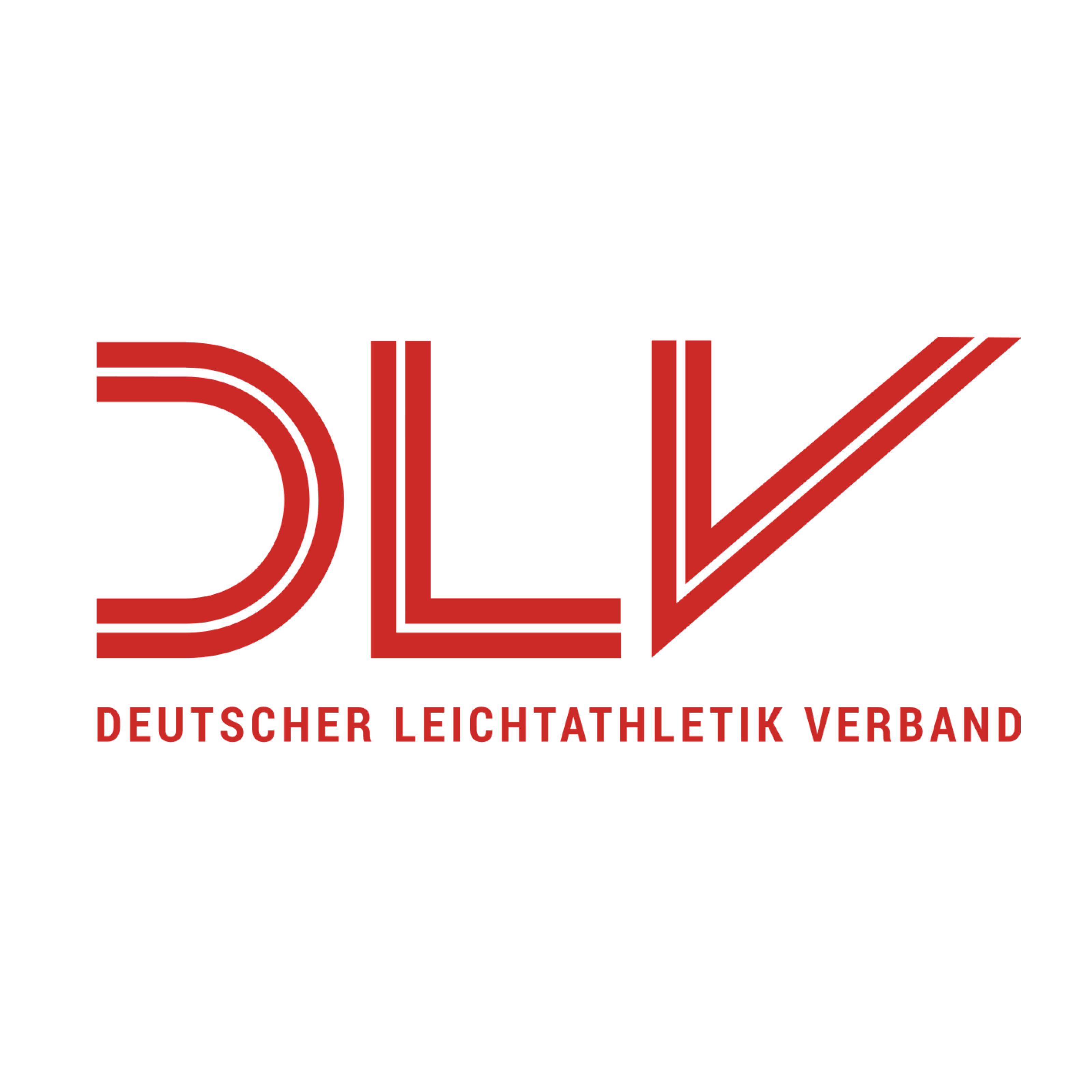 Logo des Deutschen Leichtathletik-Verbandes. Gemeinsame Veranstaltungen mit Live-Audiodeskription sind: Deutsche Hallenmeisterschaften 2019 in Leipzig, Deutsche Meisterschaften 2019 in Berlin, Deutsche Hallenmeisterschaften 2020 in Leipzig. Bildrechte: Deutscher Leichtathletik-Verband.
