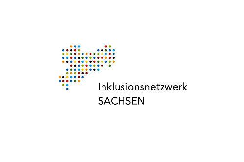 Logo des Inklusionsnetzwerkes Sachsen.