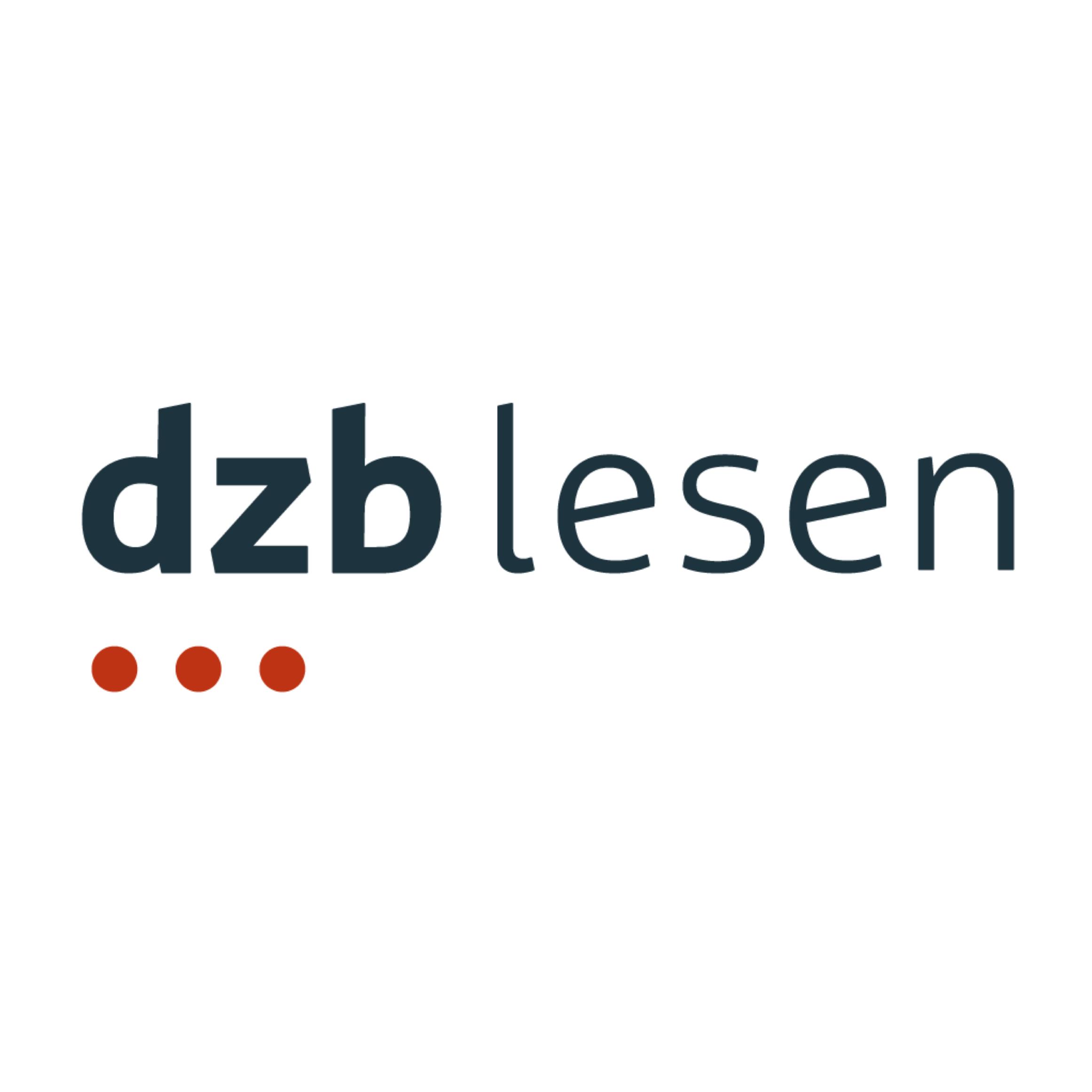 Logo des Deutschen Zentrums für barrierefreies Lesen (dzb lesen) Leipzig. Für die gemeinnützige HörMal Audiodeskription Unternehmergesellschaft ist die DZB ein wichtiger Kommunikationspartner. Auch gemeinsame Veranstaltungen mit Audiodeskription haben bereits stattgefunden. Bildrechte: Deutsches Zentrum für barrierefreies Lesen, Leipzig.